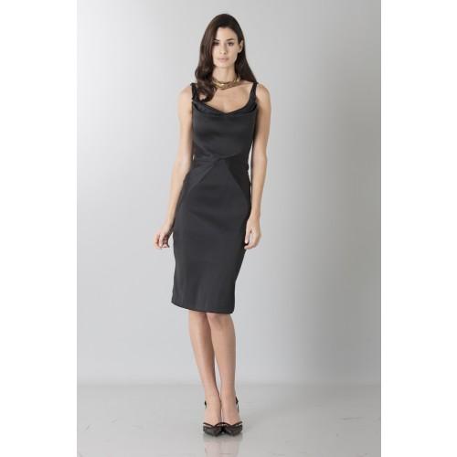 Vendita Abbigliamento Usato FIrmato - Tubino in stretch satin - Zac Posen - Drexcode -5