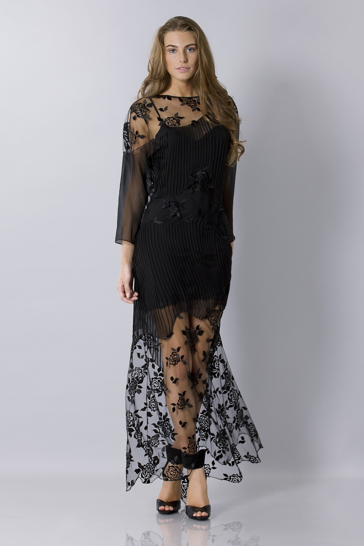 Silk emboidered tunic