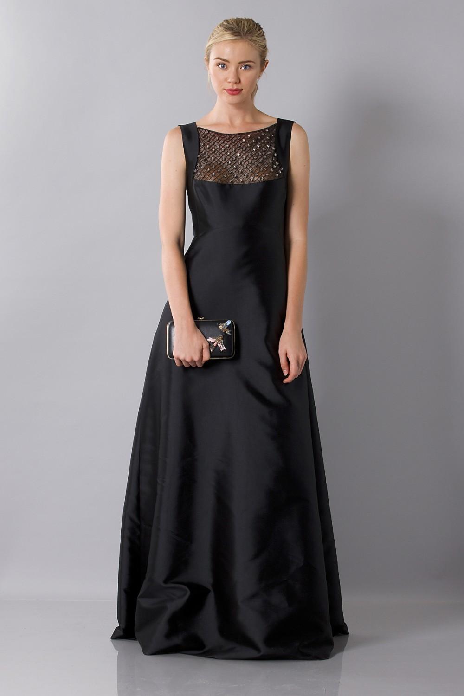 Dress with jewels