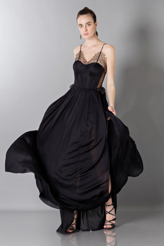 Lamè lace dress