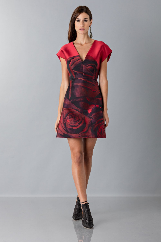 Techno duchesse dress