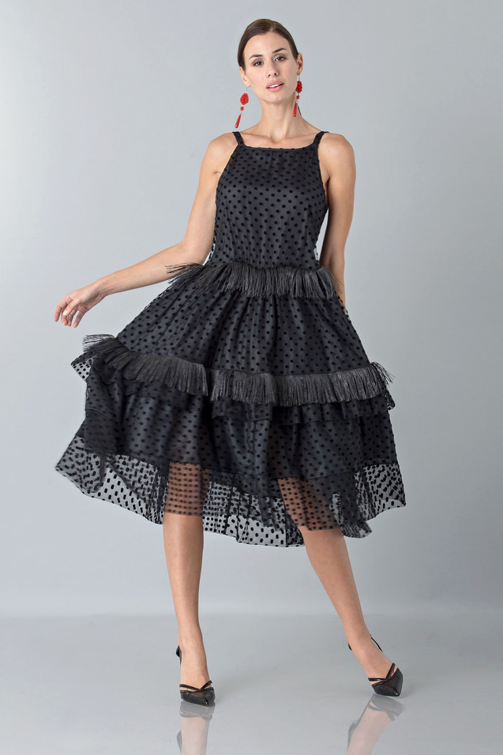Petticoat with feather