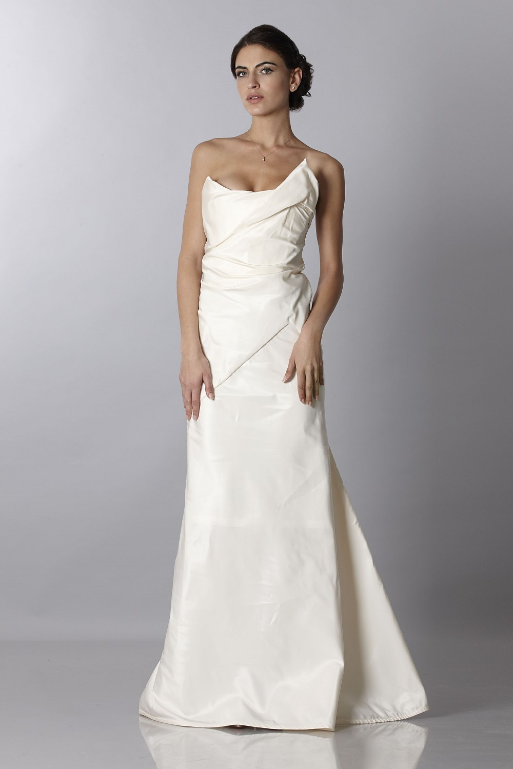 Wedding bustier dress