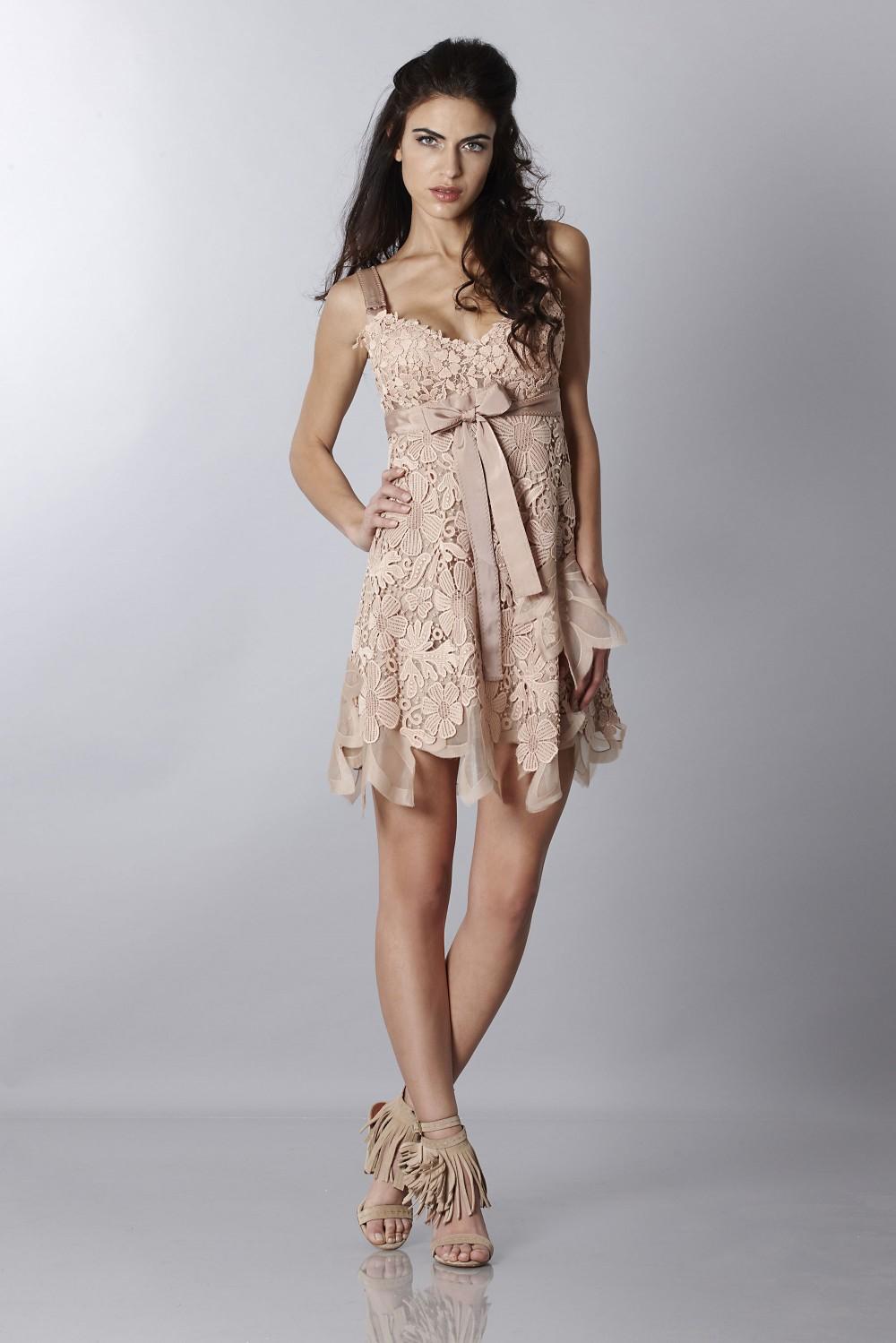 Macramè dress