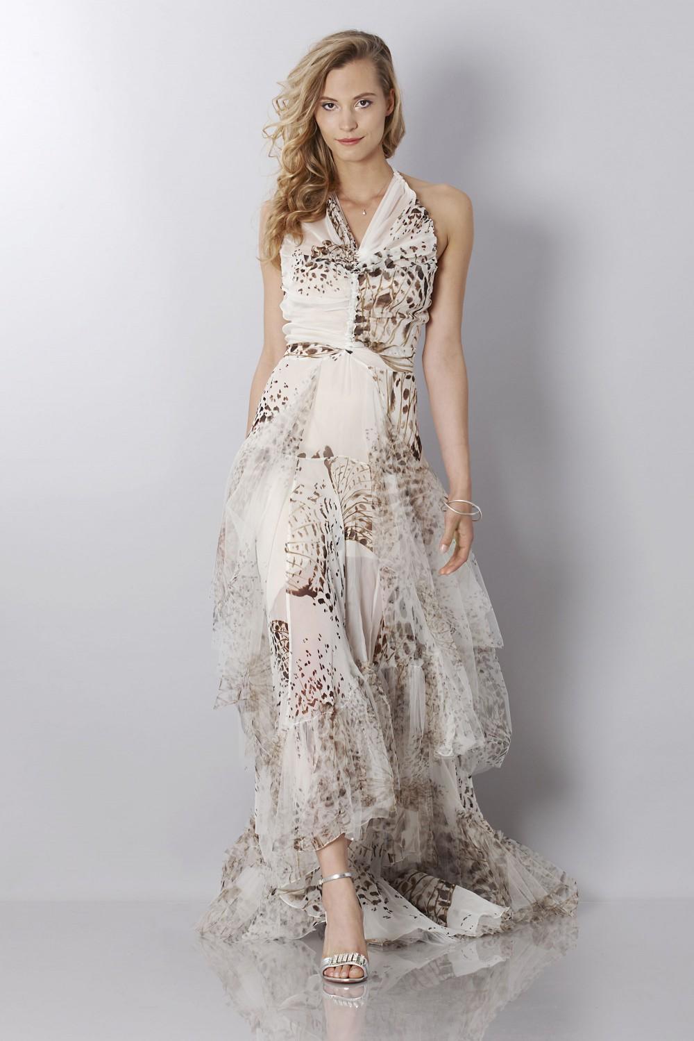 Vendita Abbigliamento Usato FIrmato - Animalier silk dress - Blumarine - Drexcode -7
