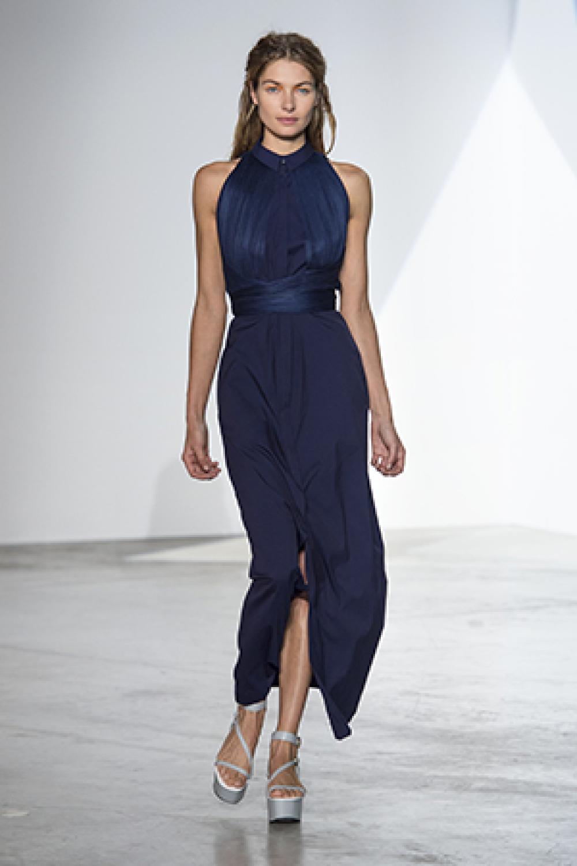 Vendita Abbigliamento Usato FIrmato - Shirtdress with draped silk tulle - Vionnet - Drexcode -2