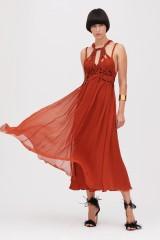 Drexcode - Crepon silk dress - Alberta Ferretti - Sale - 1