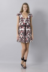 Drexcode - Brocade patterned dress - Albino - Sale - 2