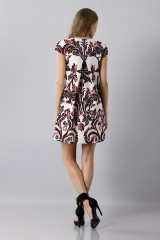 Drexcode - Brocade patterned dress - Albino - Sale - 3