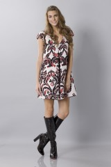 Drexcode - Brocade patterned dress - Albino - Rent - 1