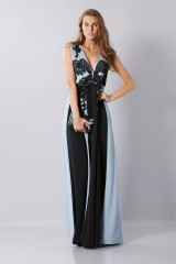 Drexcode -  Floor-length dress with v-neck and embroideries - Antonio Marras - Rent - 4