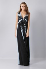 Drexcode -  Floor-length dress with v-neck and embroideries - Antonio Marras - Rent - 1