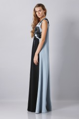 Drexcode -  Floor-length dress with v-neck and embroideries - Antonio Marras - Rent - 3