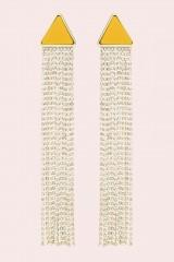 Drexcode - Orecchini pendenti in strass e resina - Sharra Pagano - Sale - 1