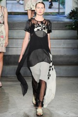 Drexcode - Layered sheer gown - Antonio Marras - Rent - 3