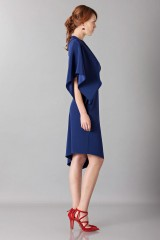 Drexcode - Dress with asymmetrical sleeves - Albino - Sale - 3