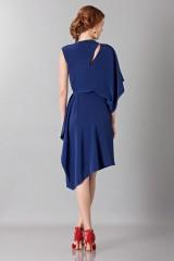 Drexcode - Asymmetrical sleeve dress - Albino - Rent - 2