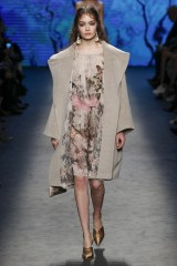 Drexcode - Silk chiffon dress with floral pattern - Alberta Ferretti - Sale - 3