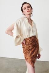Drexcode - Camicia in seta con maniche tagliate - Redemption - Rent - 5