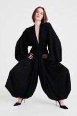 Drexcode - Jumpsuit morbida con scollo profondo - Nervi - Sale - 1