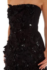 Drexcode - Rhinestone beaded dress - Alberta Ferretti - Sale - 4