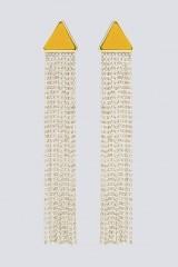 Drexcode - Orecchini pendenti in strass e resina - Sharra Pagano - Sale - 3