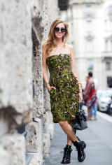Drexcode - Rhinestone beaded dress - Alberta Ferretti - Rent - 6