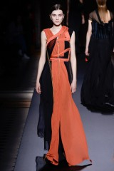 Drexcode - Long dress with central silk insert - Vionnet - Rent - 3
