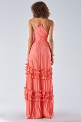 Drexcode - Strawberry dress with ruffles - Halston Heritage - Rent - 5