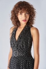 Drexcode - Asymmetric polka dot dress with ruffles - Forever unique - Rent - 4