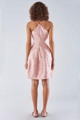 Drexcode - Bon ton dress with balloon skirt - Halston - Rent - 3