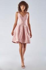 Drexcode - Bon ton dress with balloon skirt - Halston - Rent - 4