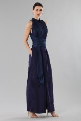 Drexcode - Shirtdress  with draped silk tulle  - Vionnet - Rent - 3