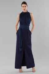 Drexcode - Shirtdress  with draped silk tulle  - Vionnet - Rent - 1