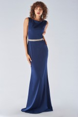Drexcode - Dress with jeweled belt  - Forever unique - Rent - 3