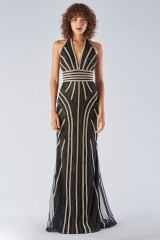 Drexcode - Dress with a two-tone sequin decoration - Forever unique - Rent - 3