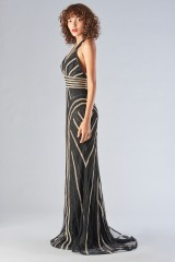 Drexcode - Dress with a two-tone sequin decoration - Forever unique - Rent - 4