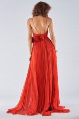 Drexcode - Dress with maxi slit and side application - Iris Serban - Rent - 6