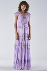 Drexcode - Lavender dress with lace applications - Catherine Deane - Rent - 1