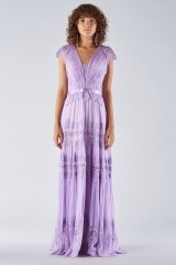 Drexcode - Lavender dress with lace applications - Catherine Deane - Rent - 3