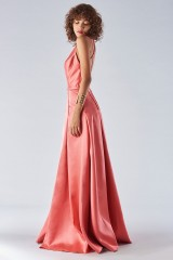 Drexcode - Satin dress with structured bodice - Forever unique - Rent - 3
