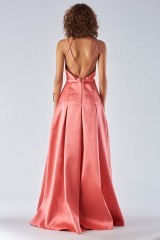 Drexcode - Satin dress with structured bodice - Forever unique - Rent - 5
