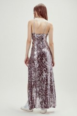 Drexcode - Long sequined dress with side cut-outs - For Love and Lemons - Rent - 12