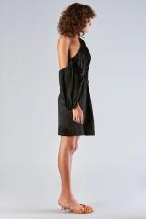 Drexcode - One-shoulder dress with off-shoulder sleeve - Amur - Sale - 4
