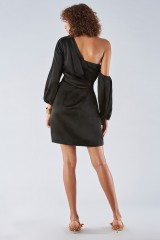 Drexcode - One shoulder dress with off-shoulder sleeves - Amur - Rent - 5