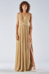 Drexcode - Braided glitter gold dress - Iris Serban - Rent - 2