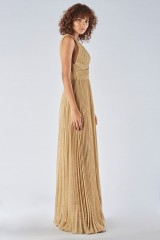 Drexcode - Braided glitter gold dress - Iris Serban - Rent - 5