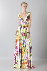 Drexcode - Flower V-neck dress - Ports 1961 - Rent - 2