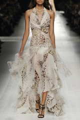 Drexcode - Animalier silk dress - Blumarine - Sale - 2