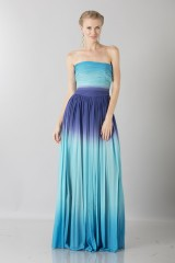 Drexcode - Blue degraded  bustier dress - Ports 1961 - Rent - 1